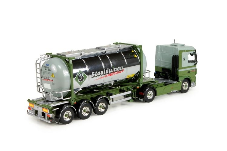 DAF XF Space Cab  Swap Container Staalduinen