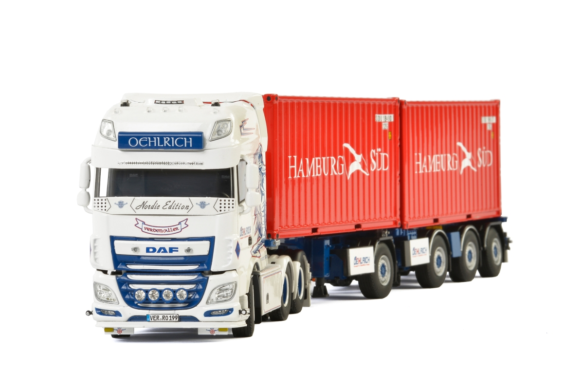 DAF XF SSC Broshuis Connect Container  Oehlrich