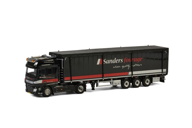DAF XF SSC  Cargo Floor  Sanders Fourage