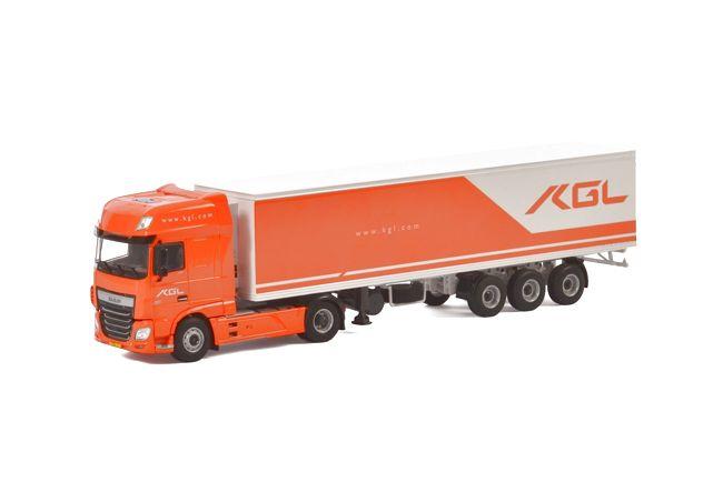 DAF XF SSC Classic Cool Trailer KGL Holding