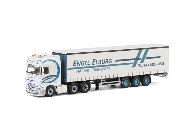 DAF XF SSC Curtainside  Engel Transport Elburg