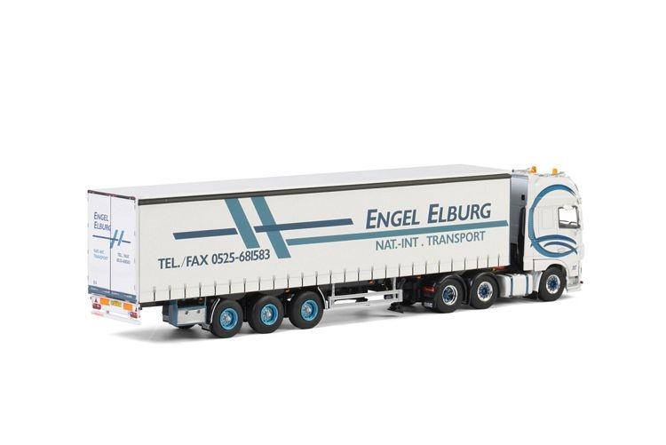 DAF XF SSC Curtainside  Engel Transport Elburg