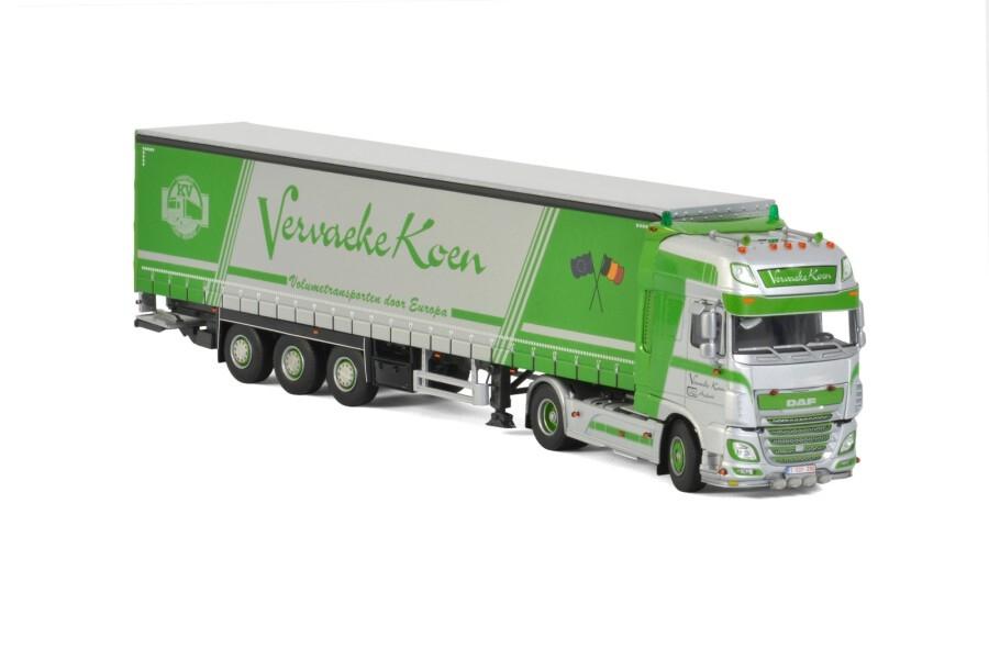 DAF XF SSC Curtainside  Vervaeke Koen Transport