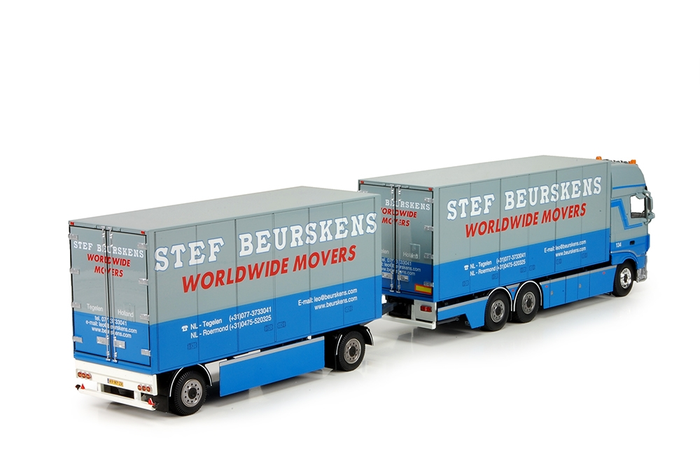 DAF XF SSC Euro6 combi  Beurskens stef