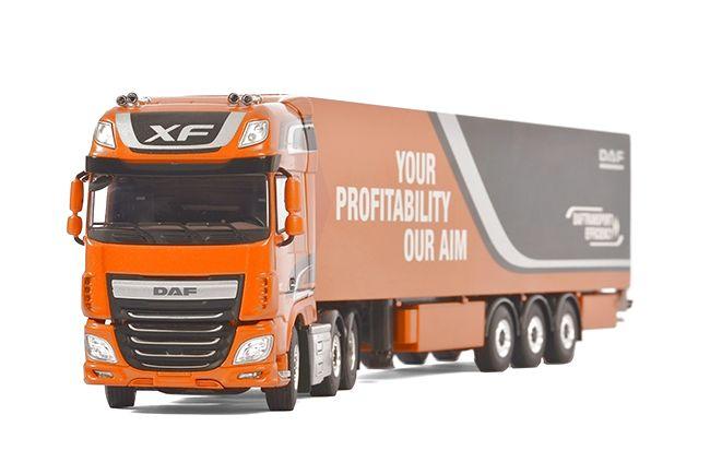 DAF XF SSC Kofferauflieger WSI Premium line