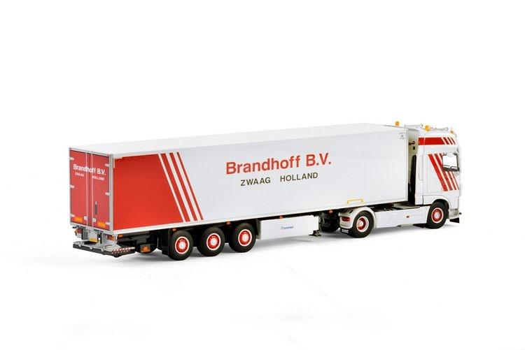 DAF XF SSC  Kuehlauflieger Carrier  Brandhoff B.V.
