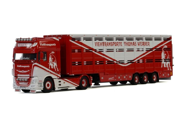 DAF XF SSC Live Stock Trailer Thomas Werner