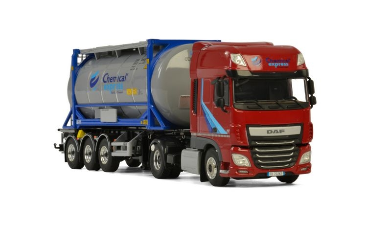 DAF XF SSC MY2017 20 FT Tank Container Chemical Express