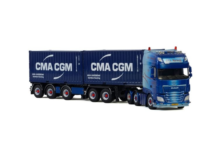 DAF XF SSC MY2017 2Connect Combi Container J.G. Verweij