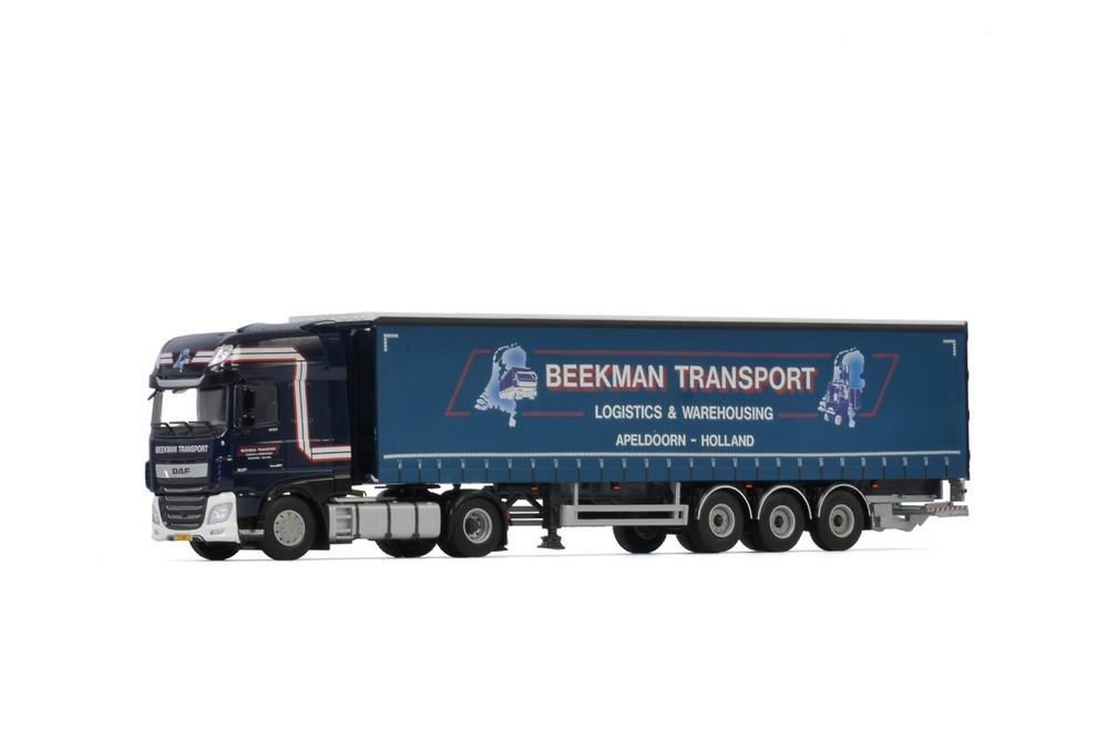 DAF XF SSC MY2017  Curtainside  Beekman Transport