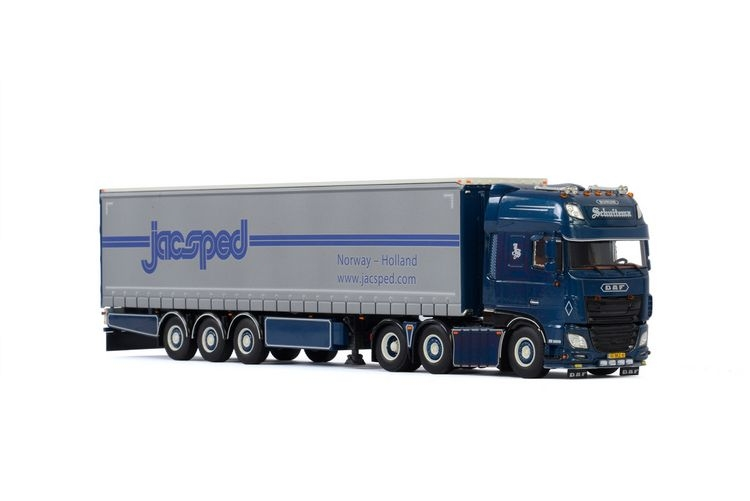 DAF XF SSC MY2017  Curtainside  Schuitema