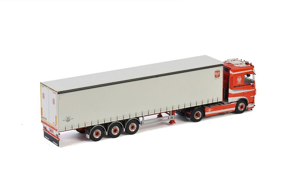 DAF XF SSC MY2017 Curtainside Transports Bialek & Fils