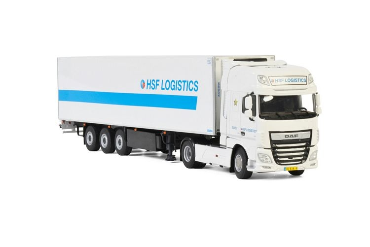 DAF XF SSC MY2017 Refrigerated Truck Combi  HSF Logistics