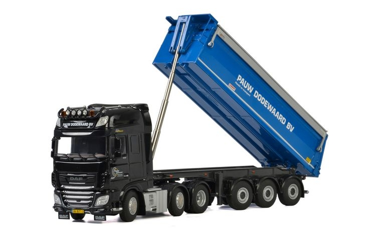 DAF XF SSC MY2017 Tipper Pauw Dodewaard B.V.