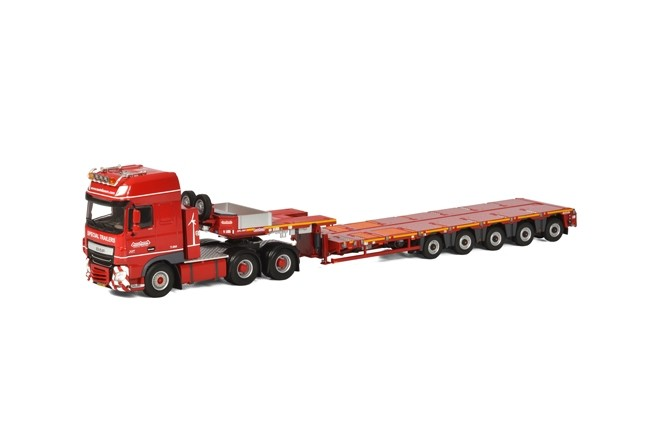 DAF XF SSC Nooteboom  KNT Red Line