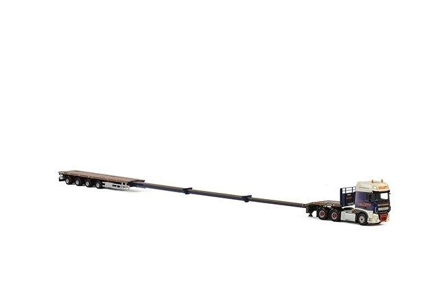 DAF XF SSC Nooteboom Telesteptrailer  Collett