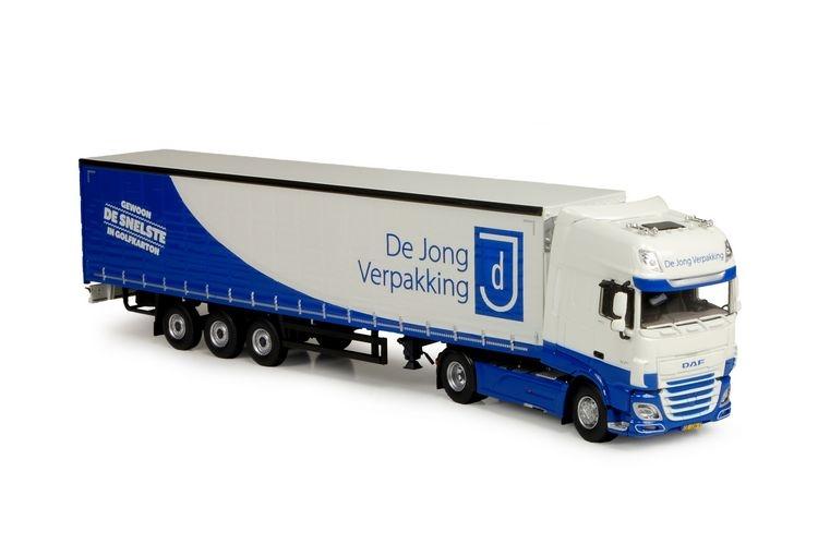 DAF XF SSC  Planen auflieger Jong Verpakking
