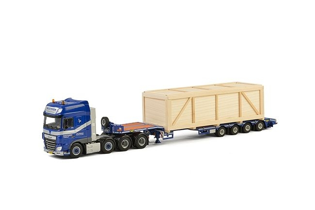 DAF XF SSC Semi Lowloader Nugteren Transport