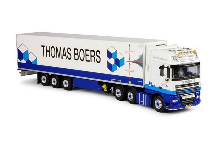 DAF XF105 SSC mit Kühlauflieger  Thomas Boers
