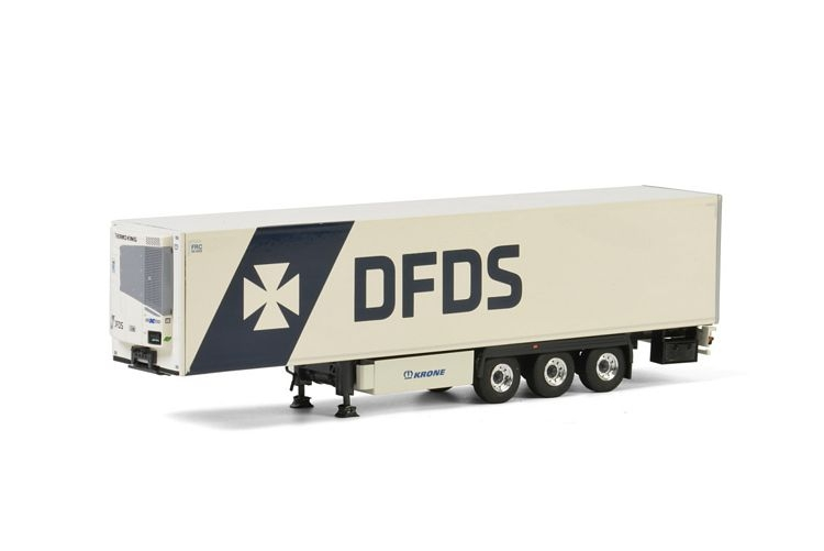 DFDS Copenhagen Reefer Trailer 3 axle Premium Line