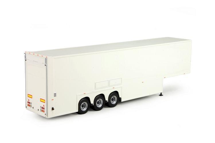 Dubbeldeks trailer T.B.