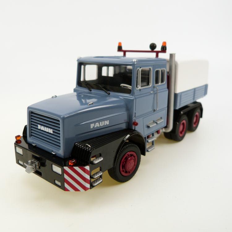 FAUN 1206 Schwerlastzugmaschine rauchblau