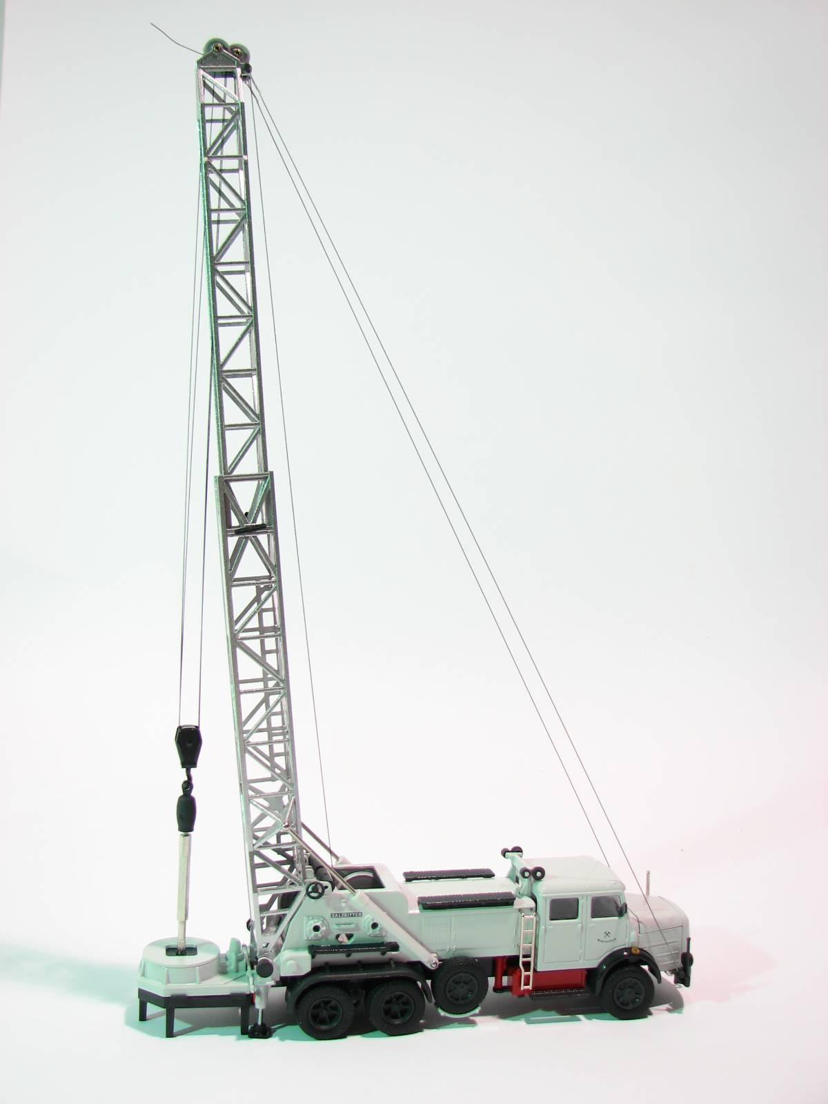 Faun-Hauber mit SMG Bohrwinde