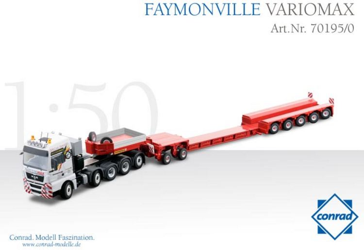 Faymonville variomax MAN 10x4 Special Trägers