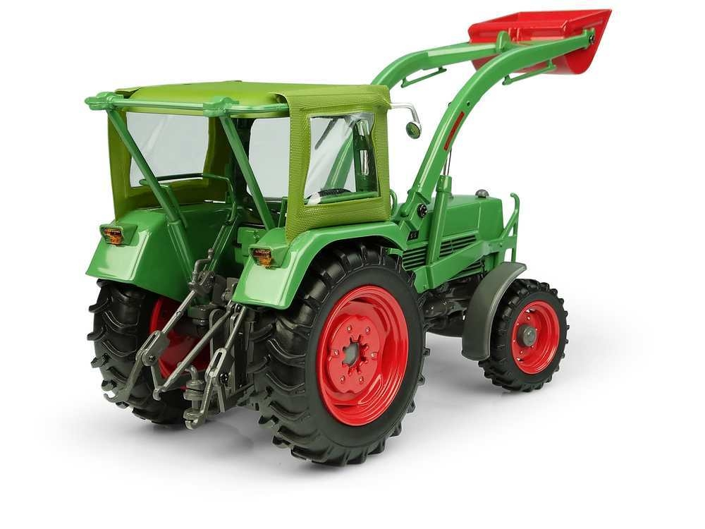 Fendt Farmer 5S Peko cabin and Baas front loader 4WD