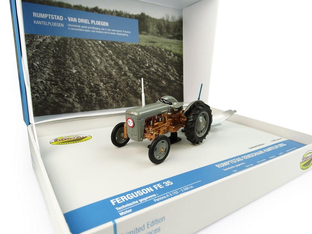 Ferguson FE35 and Rumptstad plough Set