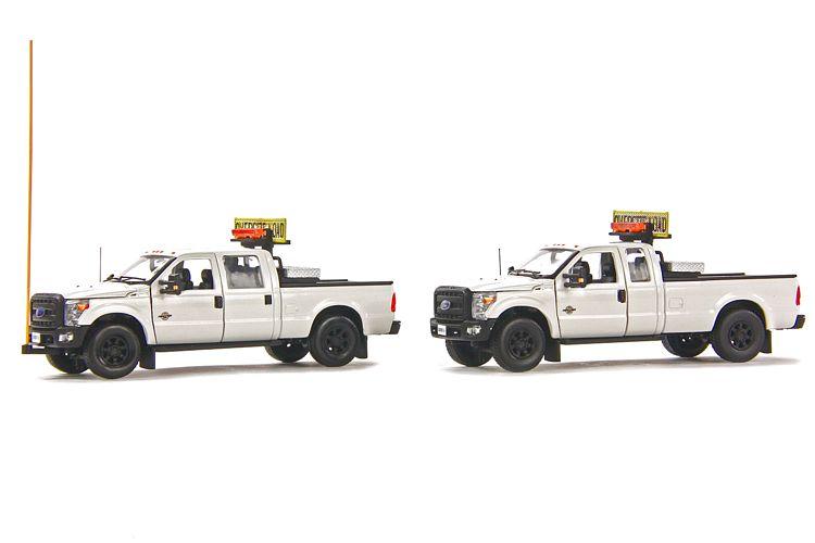 Ford F250 Pick Up Begleitset white