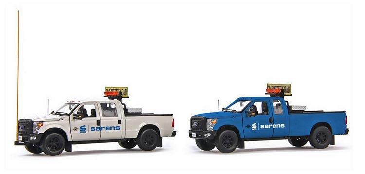 Ford F250 truck escort set Sarens