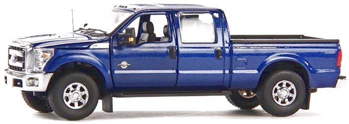 Ford F250 XLT Cabin Crew 6 Bed blau