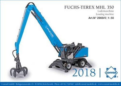 Fuchs Terex MHL 350 Lademaschine