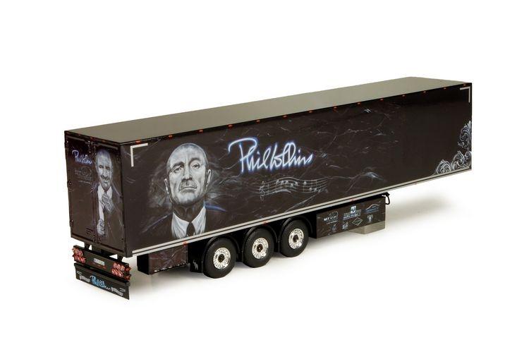 Geschlossener Anhaenger Fleischmann Phil Collins