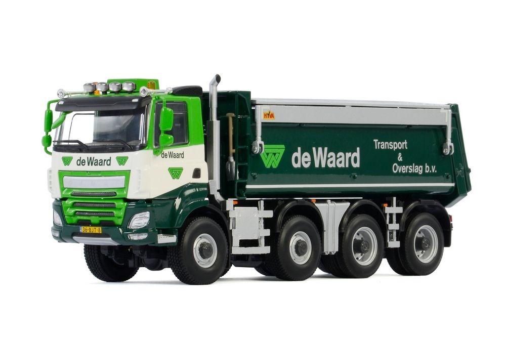Ginaf Tipper 4 axle De Waard