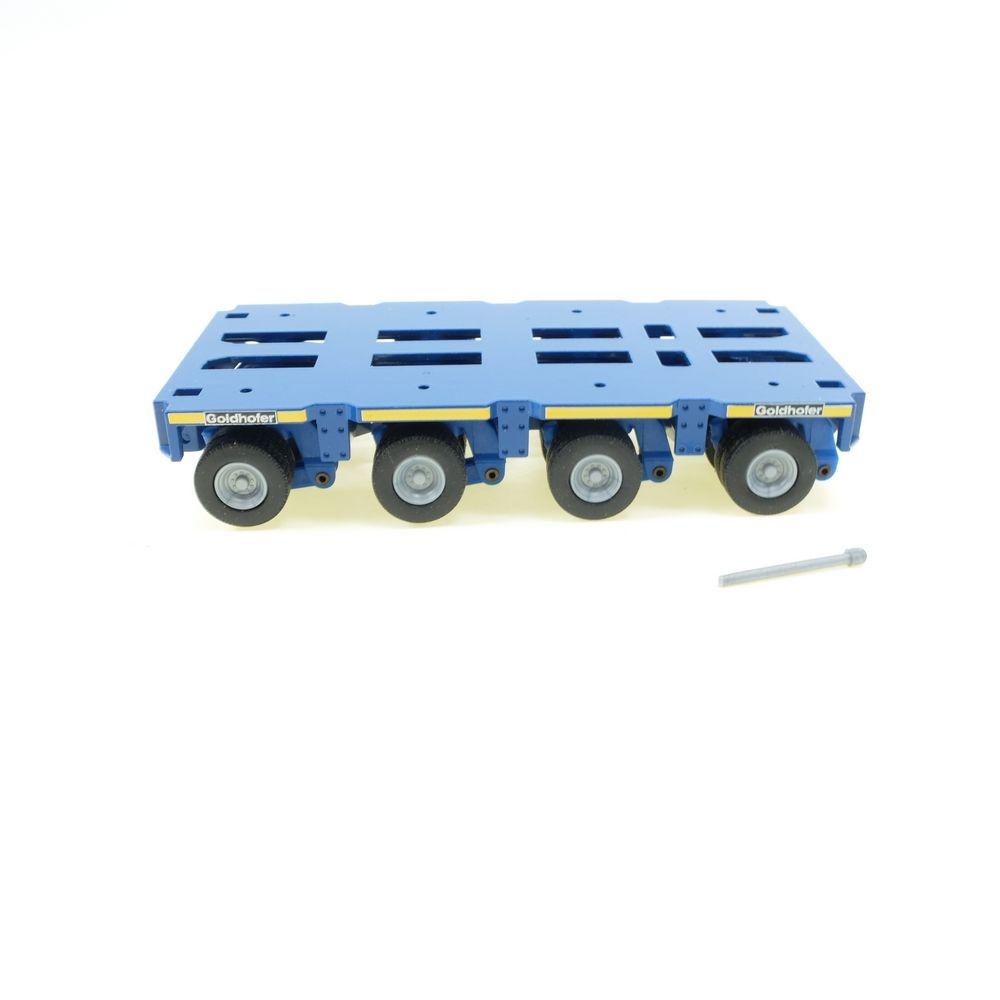 Goldhofer Schwerlastmodul THP/SL 4 Achsen blau