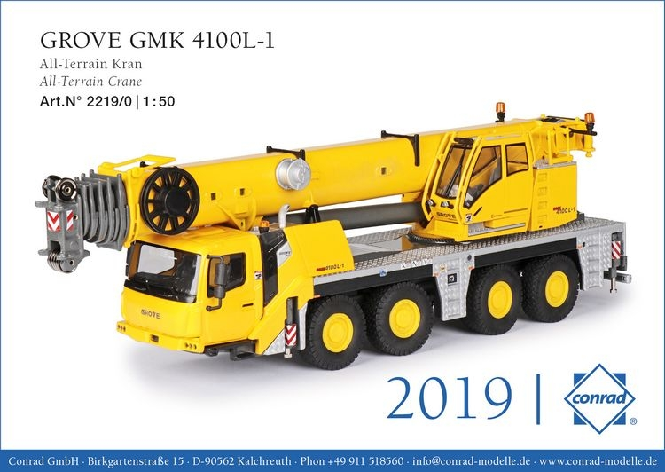 Grove GMK 4100L-1 All Terrain Kran