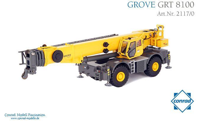 Grove GRT 8100 Rough Terrain Kran