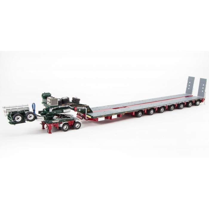 Heavy Haulage Drake 7x8 Steerable Trailer with 2x8 Dolly Membrey