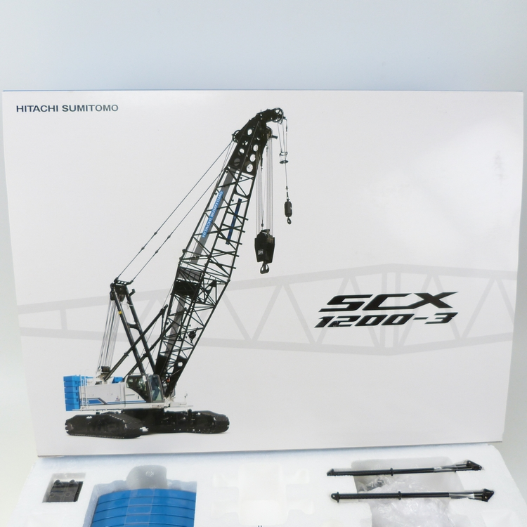 Hitachi  SCX1200A-3 Sumitomo Raupen Kran