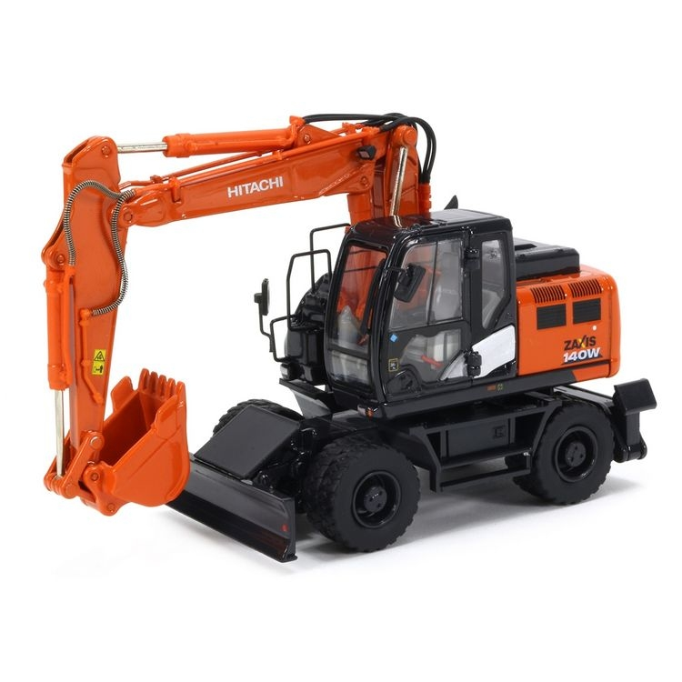 Hitachi ZX140W-6 wheeled excavator