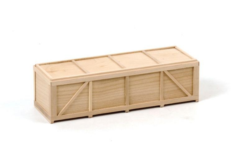 Holzkiste Länge 185 mm