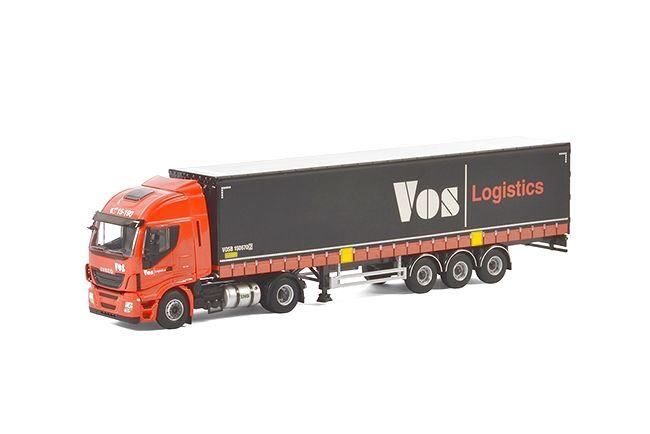 Iveco Stralis Highway Planenauflieger Vos Logistics