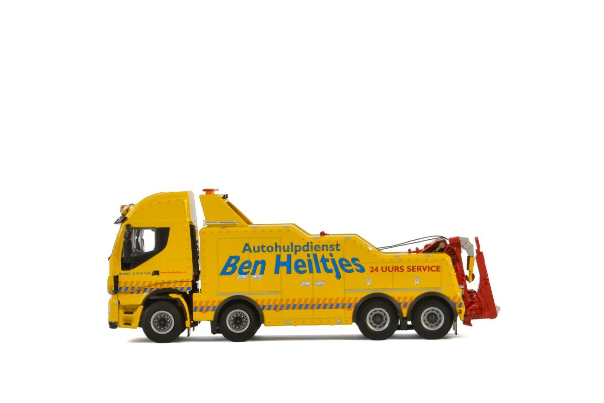 Iveco Stralis Wrecker 4 axle Autohulpdienst Ben Heiltjes