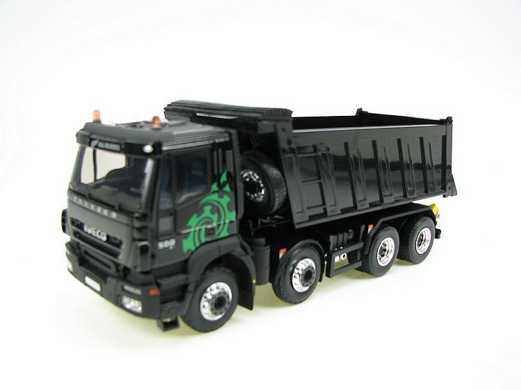Iveco Trakker 500 Kipper all blacks