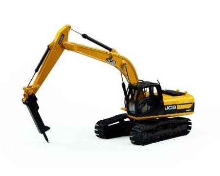 JCB Excavator JS 220 with hammer MOTORART 1:50 mo 13723 1