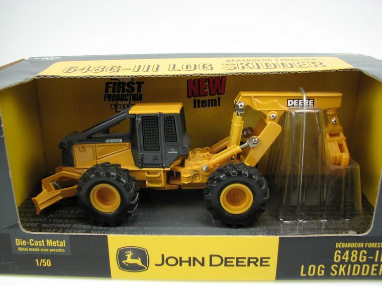 John Deere 648G-III Log Skidder Ertl 1:50 ert 15662 1