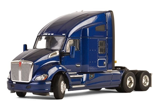 Kenworth T680 6x4 dark blue