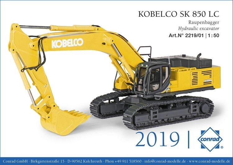 Kobelco SK 850 LC Raupenbagger US version